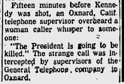 jfk caller newspaper