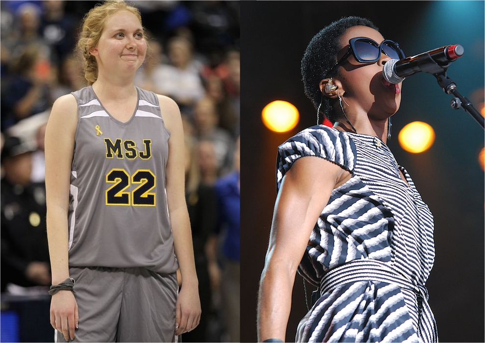 lauren hill and lauryn hill