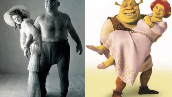 maurice tillet and shrek