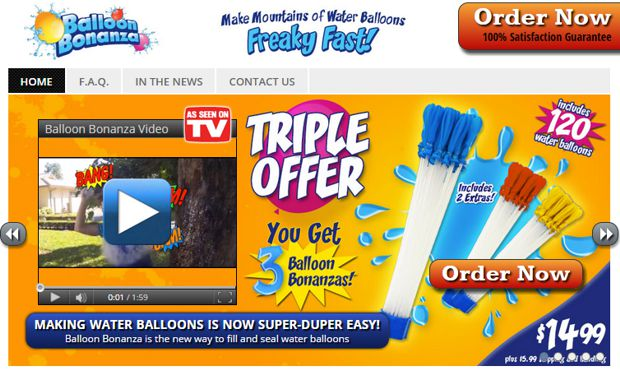 balloon bonanza website 2015