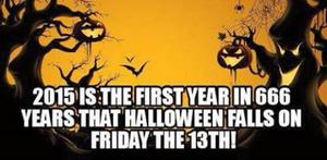 No, Halloween Doesn't Fall on Friday the 13th This Year