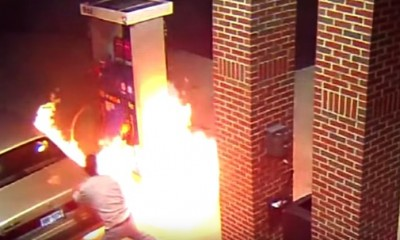 spider gas station fire