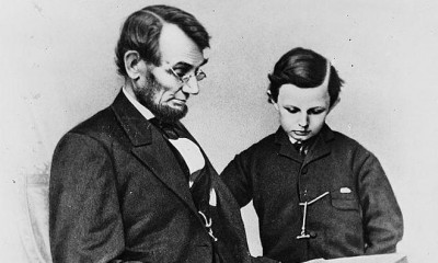 lincoln and son