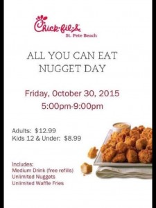 chick fil a all you can eat