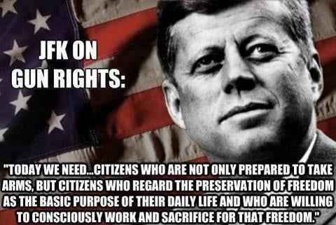 2Nd Amendment Quotes Best Kennedy Quotes On Minute Men And The 2Nd Amendment
