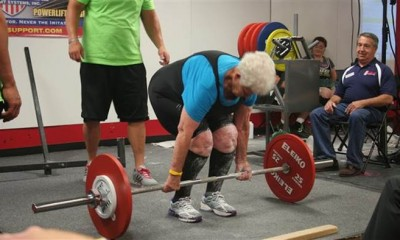 grandmother deadlift