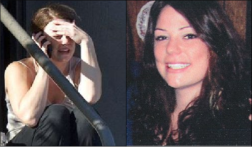 Here is the well-known photo of Amada Medek, along with a clearer portrait.
