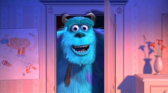 Monsters Inc real drawing