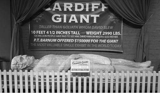 Cardiff Giant at Farmers Museum