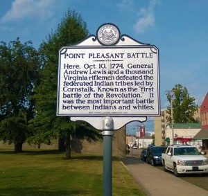 Point Pleasant Battle is seen as an important event which preceded the Legend of the Mothman.