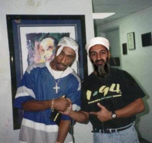 tupac and osama bin laden